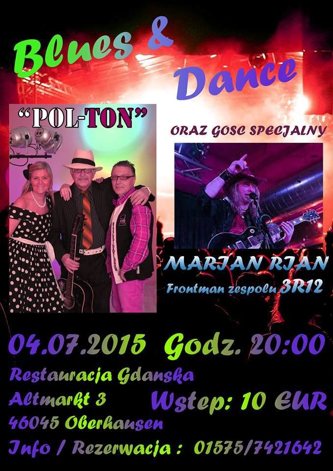 Blues & Dancing 04.07.2015
