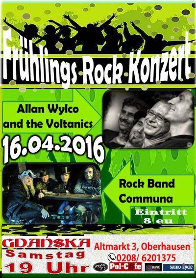 Fruehlingsrock Konzert Gdanska 2016