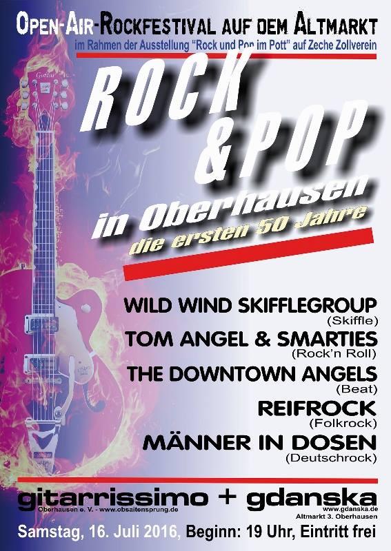 Rockfestival Altmarkt Oberhausen