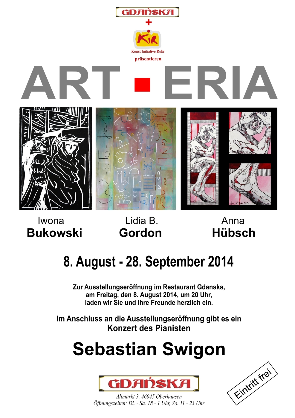 Plakat ART-ERIA