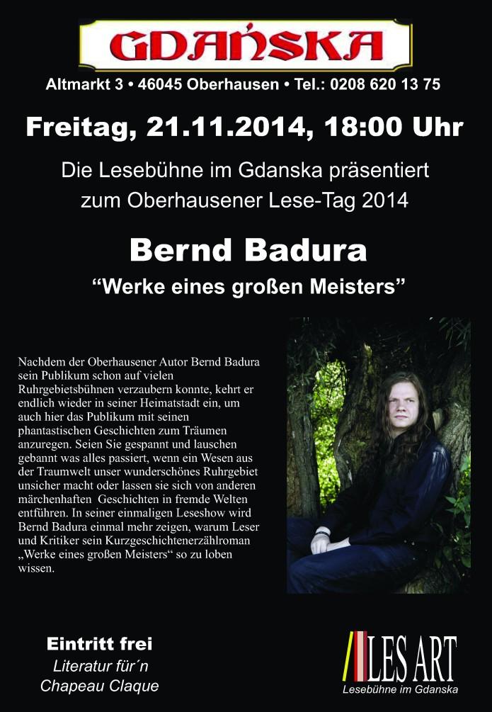 21.11.2014  Badura. Bernd