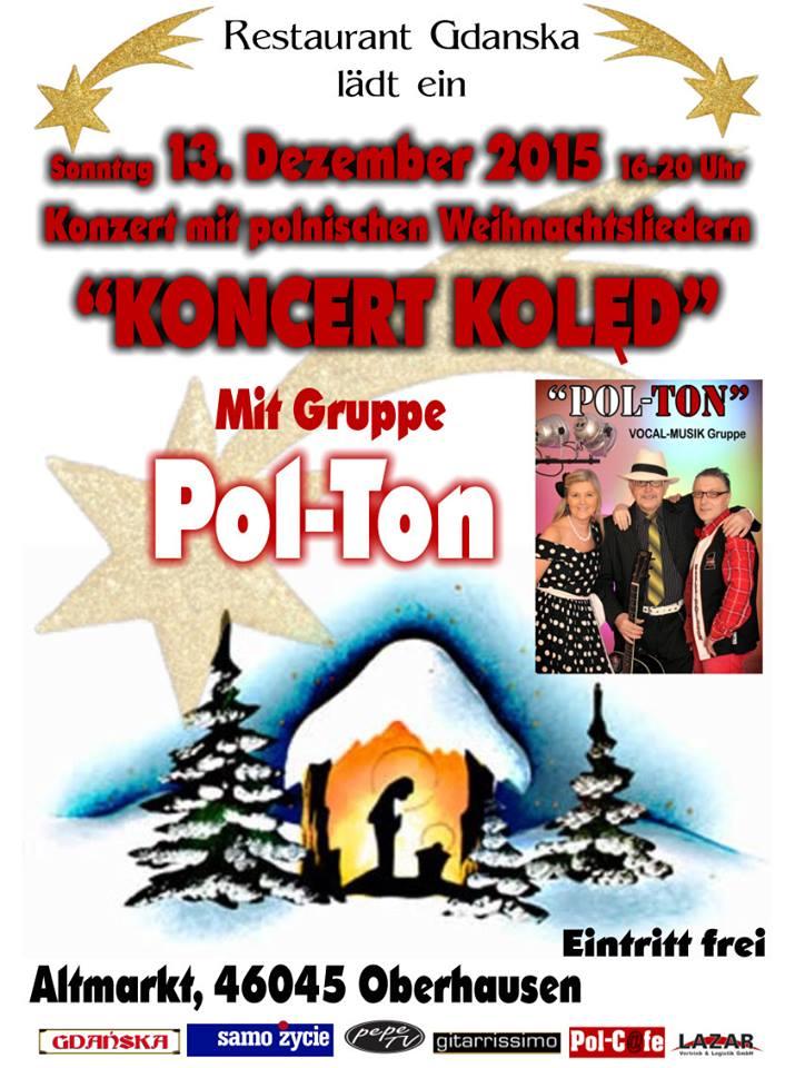 PolnischerTag Weihnachtsmarkt Oberhausen