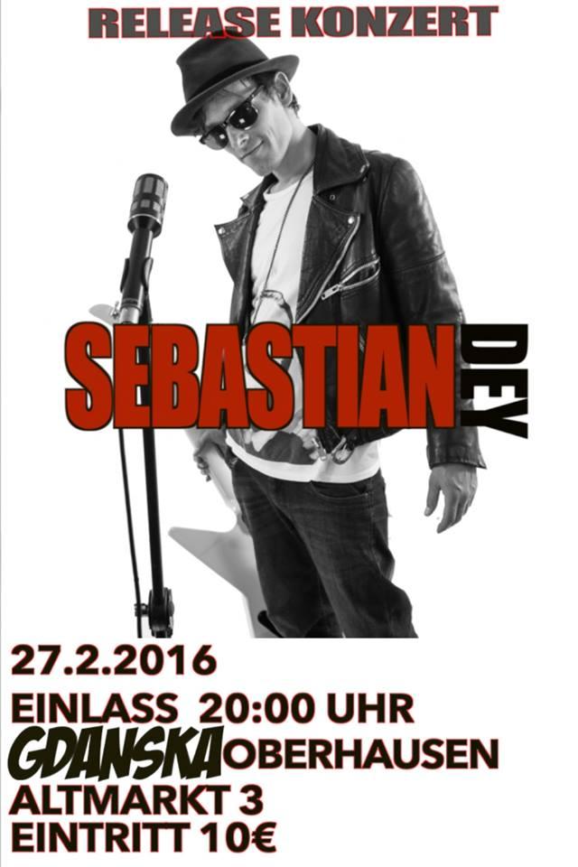 Sebastian Dey Release Konzert